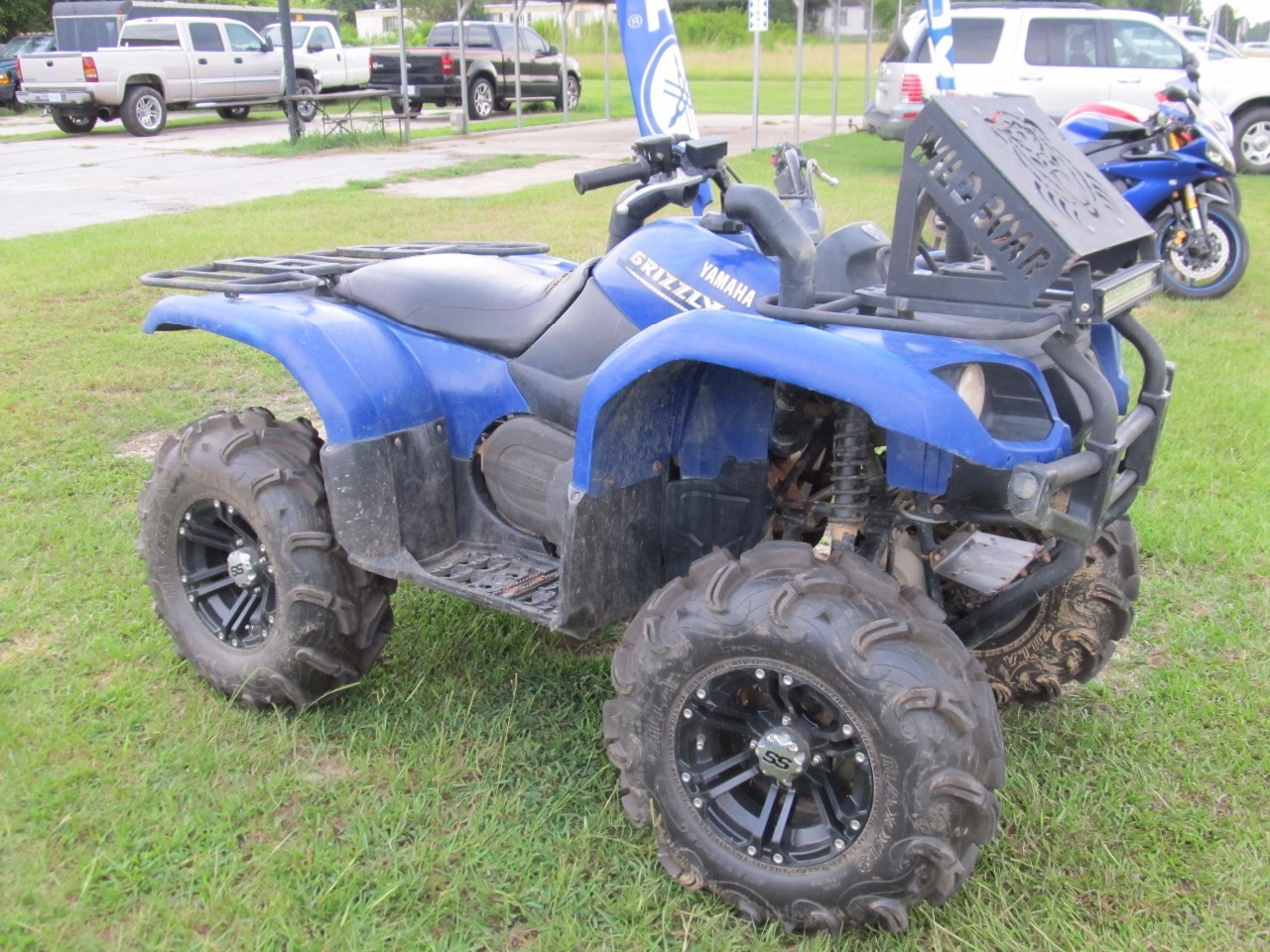 Yamaha Grizzly 660 >> Yamaha Grizzly 660 Tires And Wheels Atvs For Sale 12 Atvs