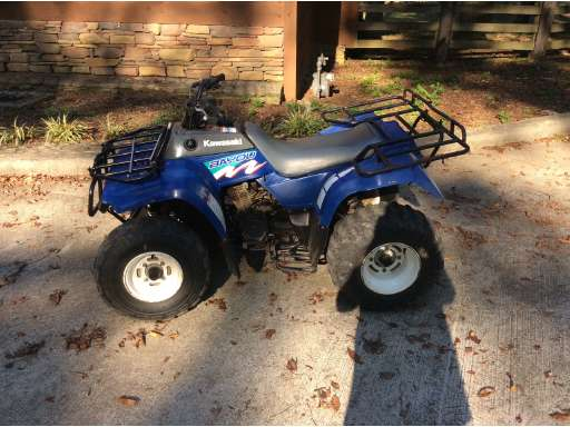 new or used kawasaki bayou atvs for sale - atvtrader