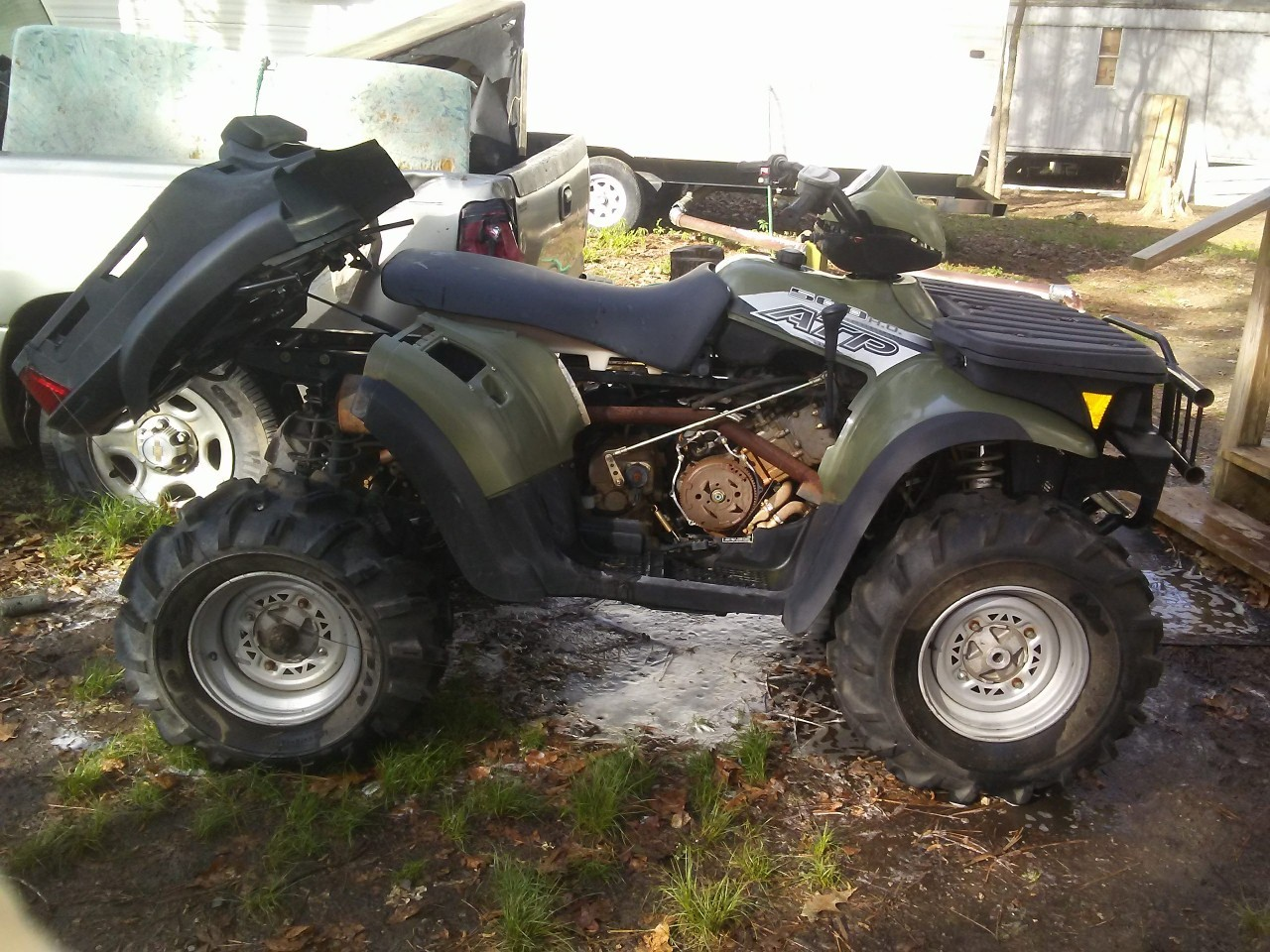Used 500 4X4 For Sale - Polaris ATV,Side by Side,Sand Rail,Golf